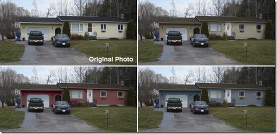 paint house front